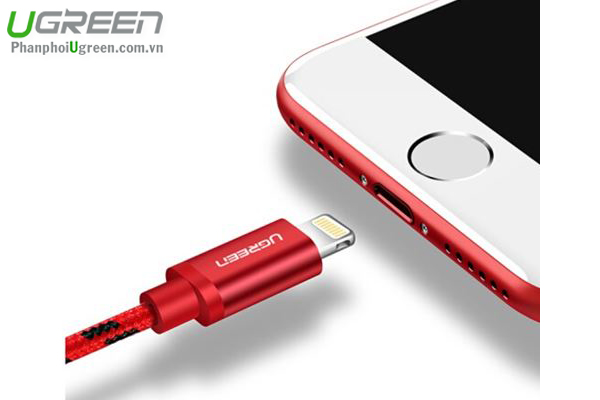 Cáp Sạc USB Lightning Cho iPhone 5/6/7 Plus, iPad 0,5M UGREEN 40478